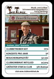 Club-Ass: Andreas Könecke / Inselklause