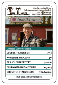 Club-Ass: Andreas Könecke / Inselklause